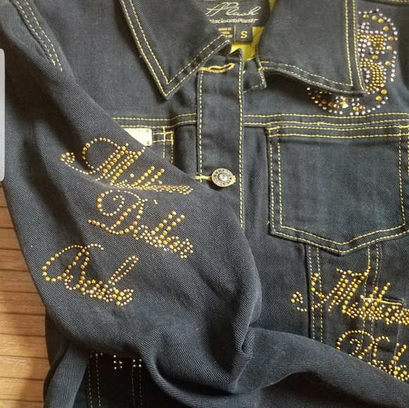 platinum plush Jackets & Blazers - PPLUSH MILLION DOLLAR BABE Jacket